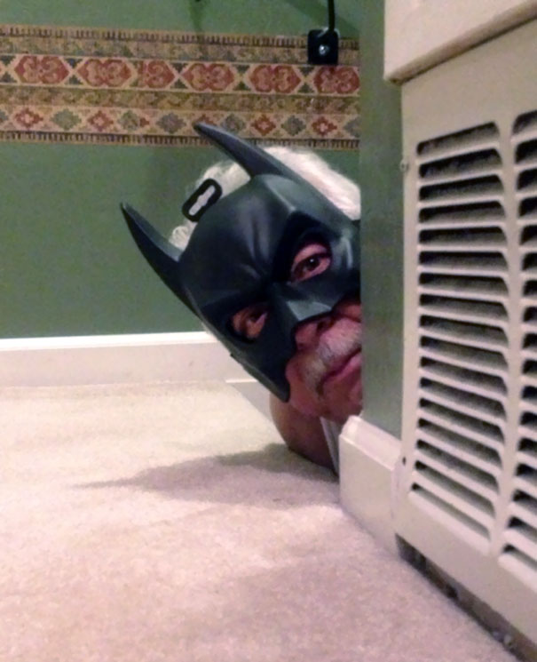 My Grandpa Watched TDKR, Sent Me This