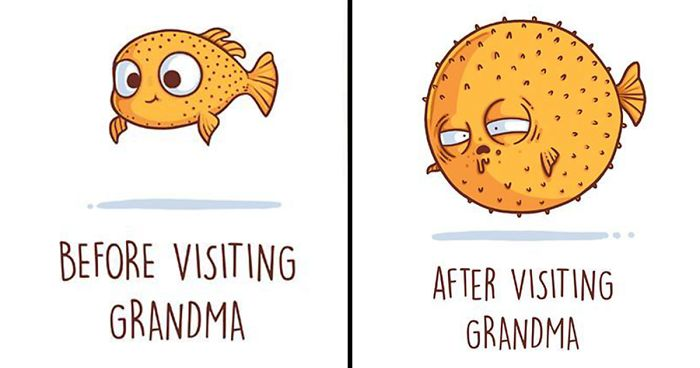 Funny And Clever Illustrations By Spanish Artist Nacho Diaz - Clever illustrations show two different kinds people world