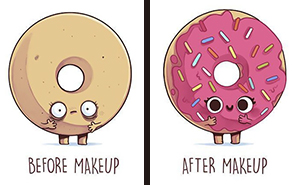 Sweet Illustrations Show That Love Is In The Little Things - Clever illustrations show two different kinds people world