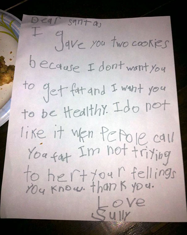 Please Read This Letter My Brother Wrote To Santa When He Was 7