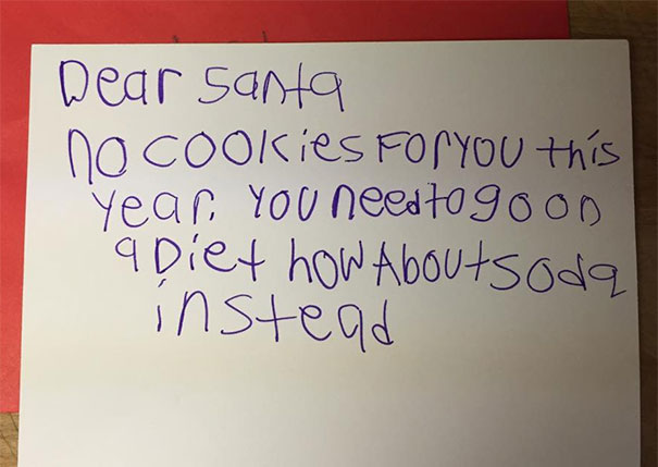 My Teacher Found This Note To Santa In Her 8-Year-Old's Bedroom
