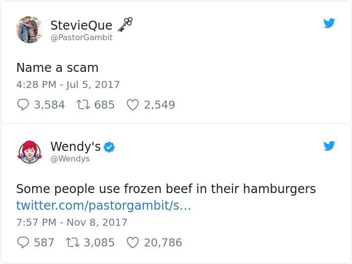 20 Hilarious Twitter Roasts By Wendys Twitter That Will Make You
