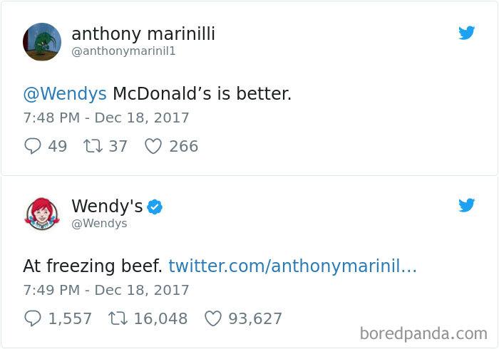 Wendy's Tweets