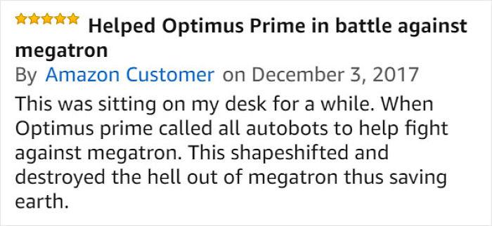 Funny Amazon Reviews