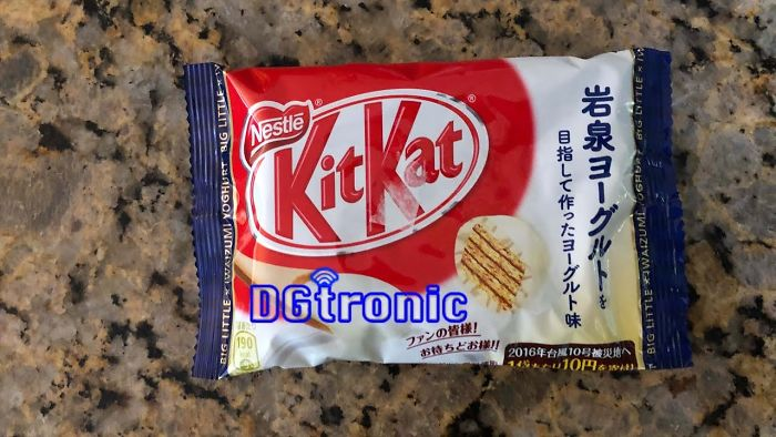 Nestle Big Little Iwaizumi Yoghurt Kit Kat Review Video