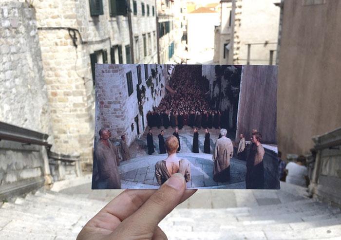 Jesuit Stairs, Dubrovnik, Croatia