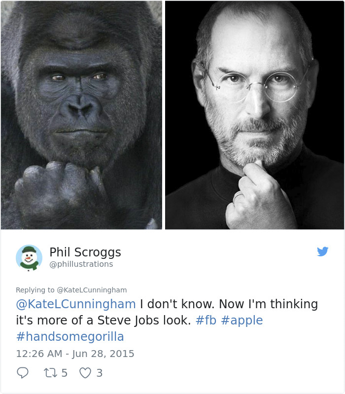 People Are Comparing This Ridiculously Photogenic Gorilla To George Clooney And We Can't Handle It