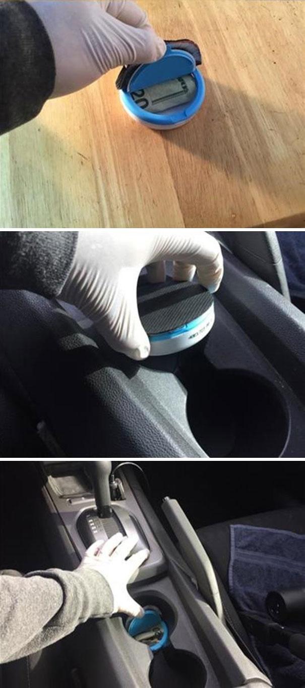 Secret Car Compartment
