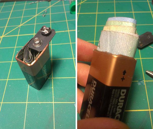 Battery Secret Compartment
