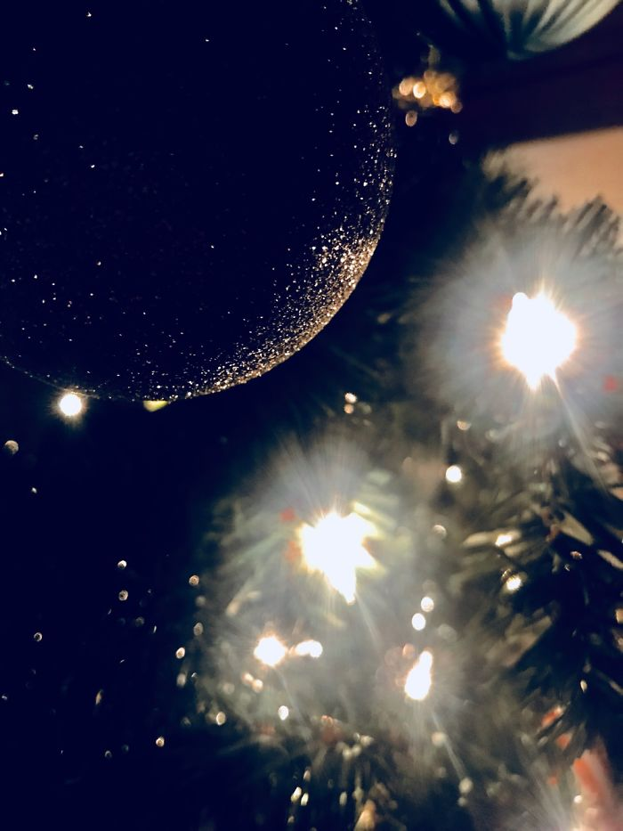 I Made Ornaments Look Like Galaxies Without Photoshop