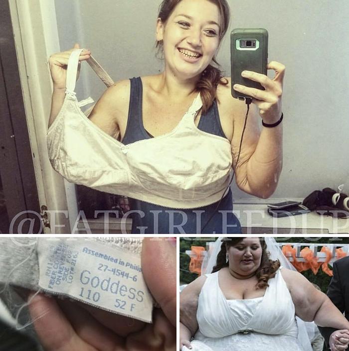Una mujer que solía pesar casi 230 kg recrea sus fotos antiguas, y es difícil creer que se trata de la misma persona