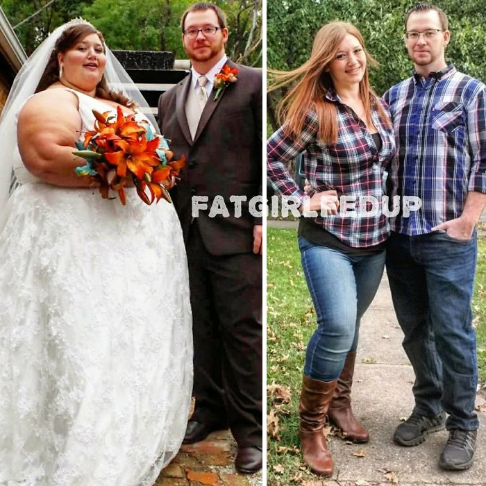Woman Who Employed To Weigh Almost 500 Lbs Recreates Her Old Photos, And It's Hard To Believe It's The Person Or Persons