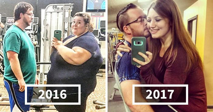 Woman Who Used To Weigh Almost 500lbs Recreates Her Old Photos After