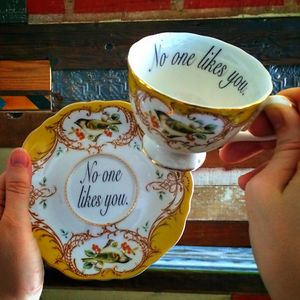 Insult-Teacups-Saucers-Melissa-Johnson