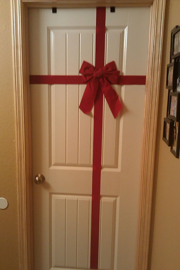 Using Thicker Ribbon Will Also Make A Bigger Bow If You're Lazy Enough