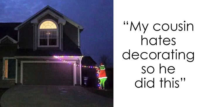 24 Times People Were So Lazy To Decorate For Christmas They
