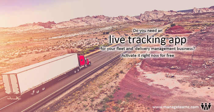 Live Tracking App For Fleet And Delivery Management