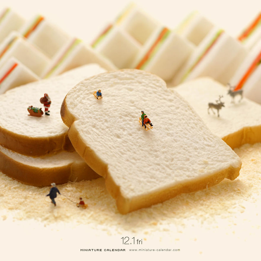 The Adorable Miniatures Of Tatsuya Tanaka Daily Will Amuse Your Day Today