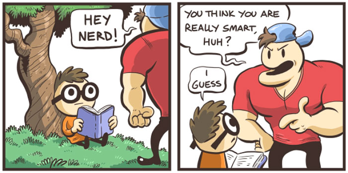 5 Nerd And Jock Comics With Unexpected Endings