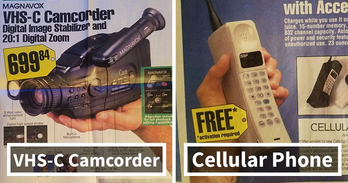 Best Buy Transmission >> Best Buy Flyer From 1994 Shows The Hottest Technology From Days