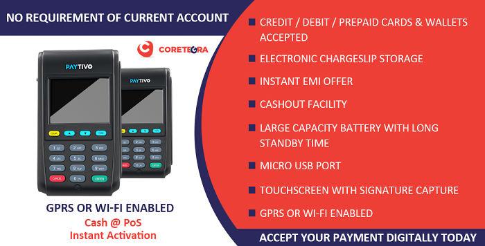 Coretegra Technologies Paytivo Machine Seller