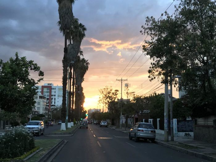 Late Spring Sunsets In Cochabamba, Bolivia
