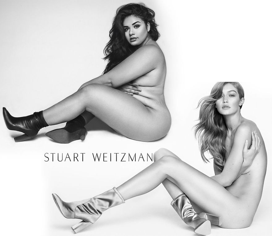 plus size models nude pictures