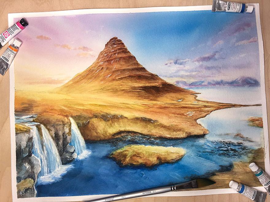 Kirkjufell Mountain, Iceland