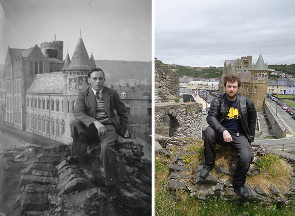 My Grandfather And I, Roughly 60 Years Apart