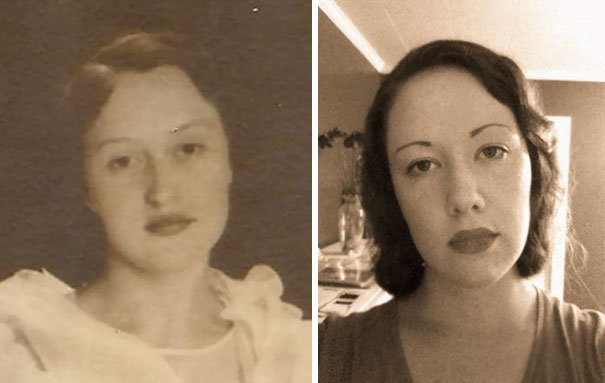 My Great Grandmother And I, 80 Years Apart