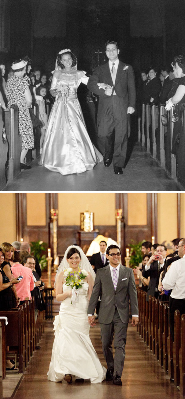 My Husband And I Got Married At The Same Church That His Grandparents Did!