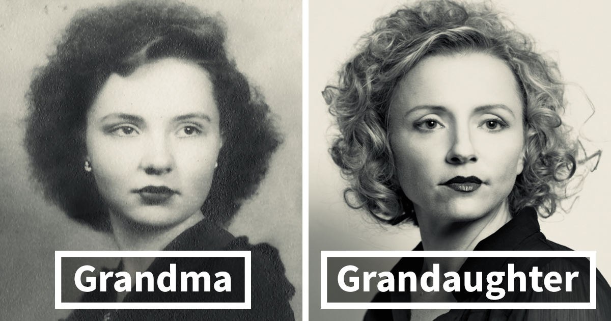 25+ Times People Recreated Their Grandparents Photos, And The Result Was Amazing