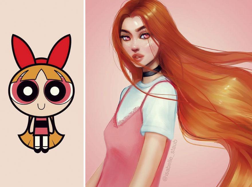 Blossom, The Powerpuff Girls