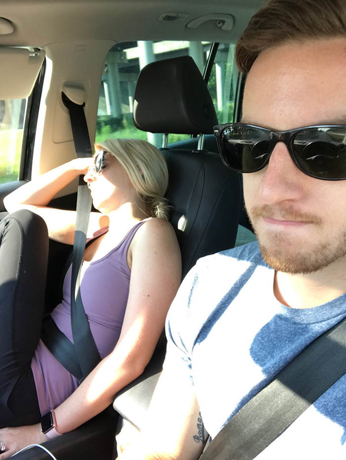 Husband Compiles Photos From All The Fun Road Trips He Takes With His Wife, And The -7420