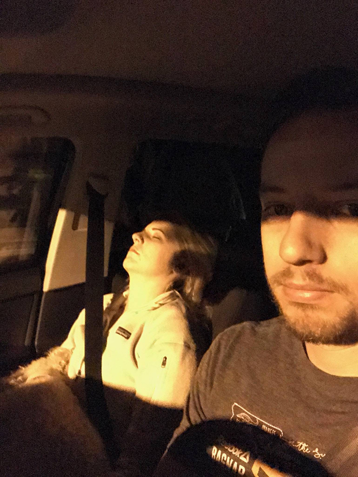 Husband Compiles Photos From All The Fun Road Trips He Takes With His Wife, And The -8673