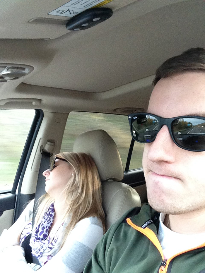 Husband Compiles Photos From All The Fun Road Trips He Takes With His Wife, And The -2029