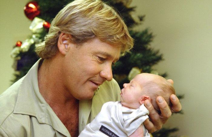 Steve Irwin dan putranya