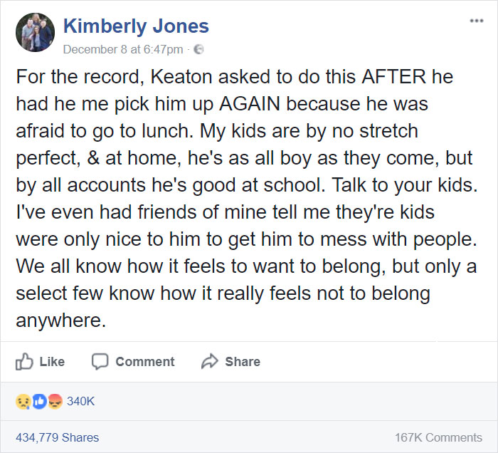 Boy Cries To Be Left Alone By Bullies, Doesn't Expect Response From