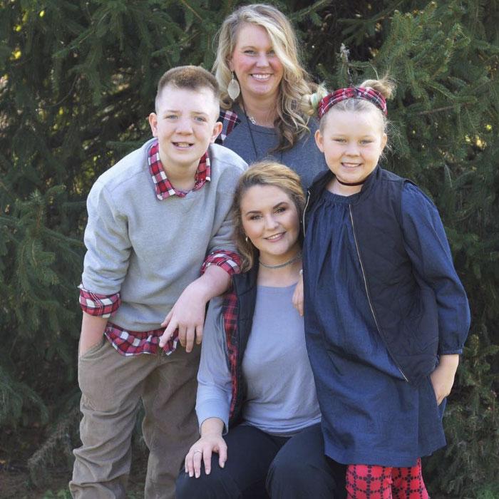 Keaton Jones With Family