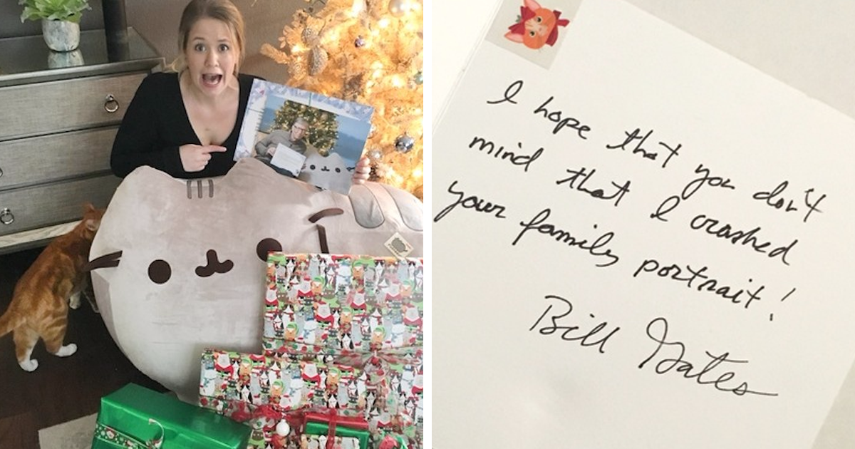 One Reddit User Got Bill Gates As Her Secret Santa, And Here's What