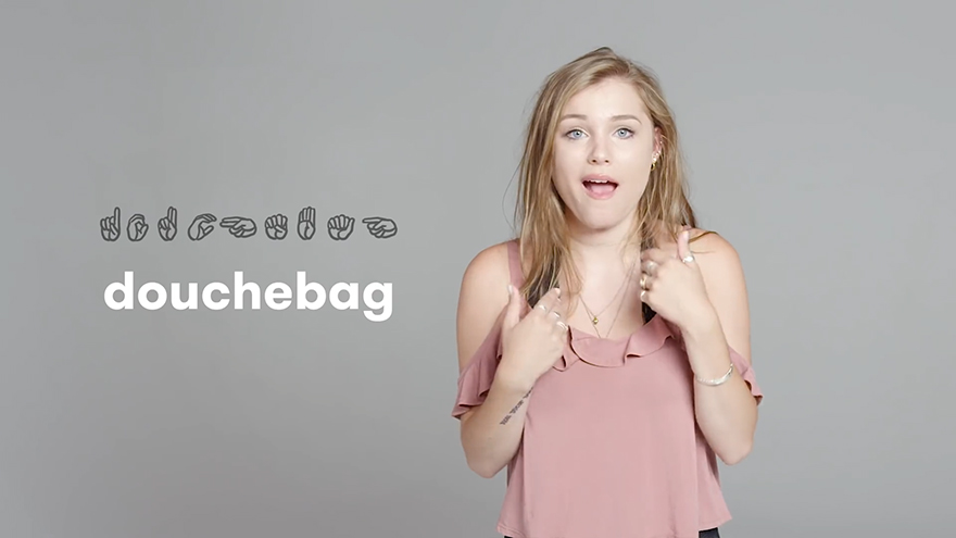 Deaf People Show How To Swear In Sign Language And Its