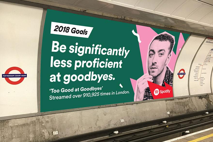2018 Goals Spotify