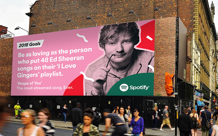 Spotify Reveals Its Users' Most Embarrassing Listening Habits For 2017 On Giant Billboards, And It's Even Funnier Than Last Year