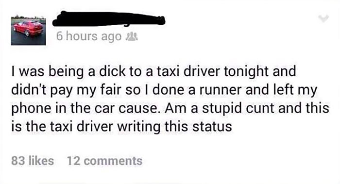 Revenge Of A Taxi Driver
