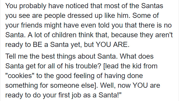 Mom Found A Genius Idea To Tell Her Kids That Santa Claus Doesn't Exist