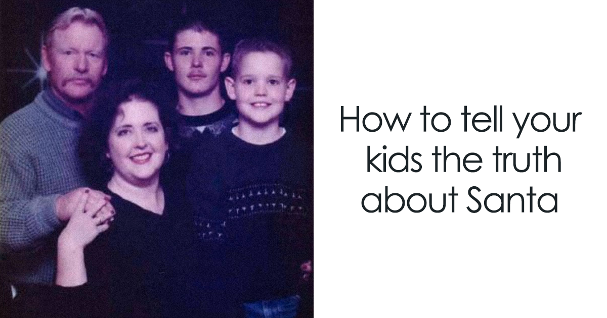 Internet Is In Love With This Mom's Genius Idea How To Tell Kids That Santa Doesn't Exist
