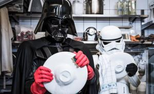 Photographer Reimagines What Would Happen If Darth Vader Faced Financial Crisis