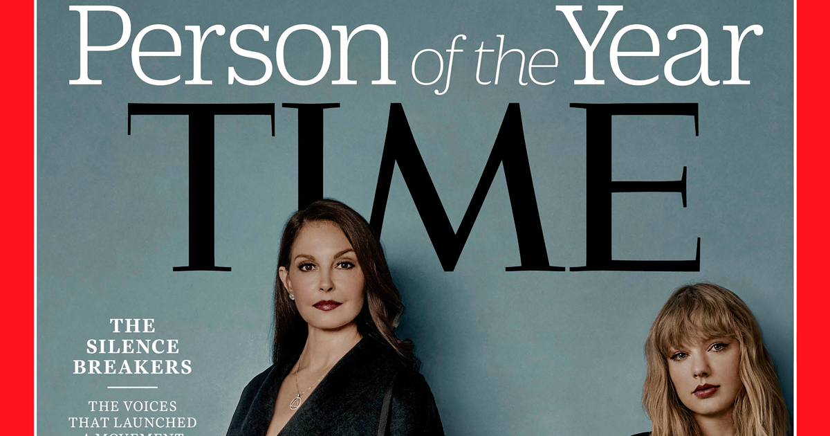 Time Magazine Names #MeToo 'Silence Breakers' As Person Of The Year, And There's A Powerful Detail You've Probably Missed