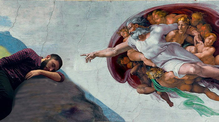 Two Guys Fell Asleep At The Creative Agency… The Rest Is The History And Photoshop
