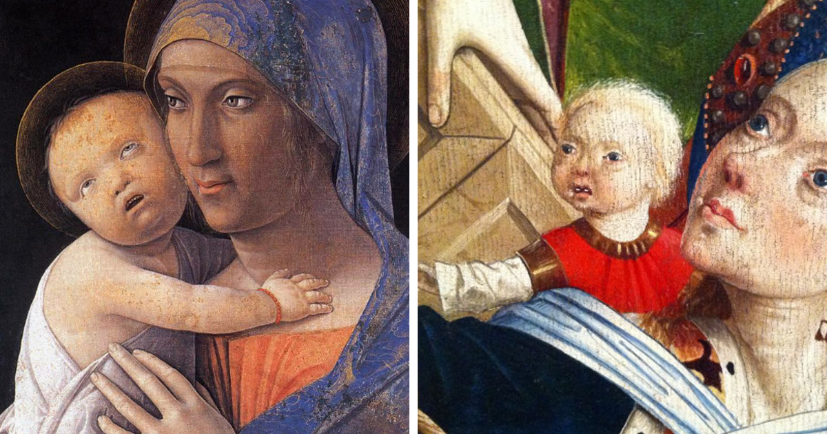 This Tumblr Dedicated To Ugly Babies In Renaissance Paintings Is The Funniest Thing Youll See All Day Bored Panda